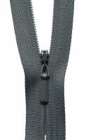 Concealed Zip - 20cm / 8in - Dark Grey