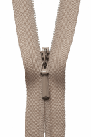 Concealed Zip - 20cm / 8in - Fawn