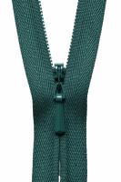 Concealed Zip - 20cm / 8in - Hunter Green