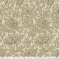 The Original Morris & Co  - Chrysanthemum Toile - Taupe - QBWM003.TAUPE - Quilt Backing - Free Spirit Fabrics
