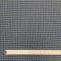Woven Cotton - Check - No. KF8289 - Navy / Gold