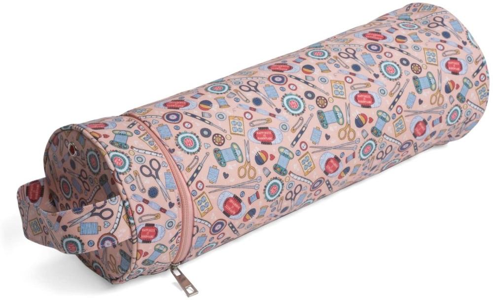 Knitting Needle & Yarn Holder - Tube Style - Notions (Groves Hobby Gift)