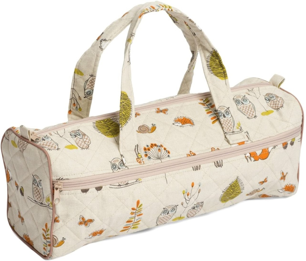 Knitting Bag - Woodland Animals (Groves Hobby Gift)