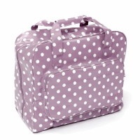 Sewing Machine Bag - Mauve Spot (Groves Hobby Gift)