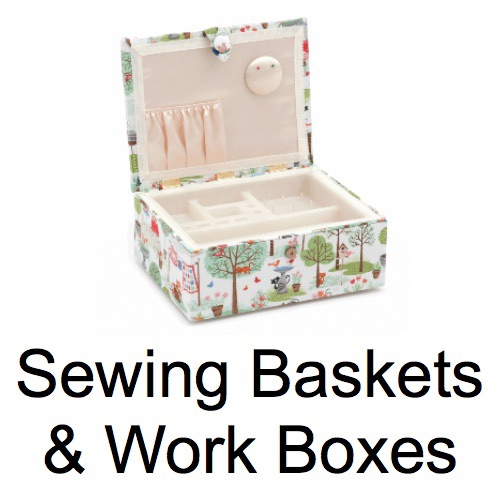 Sewing Baskets & Work Boxes