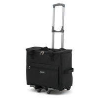 Sewing Machine Trolley Bag - Black (Groves Hobby Gift)