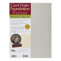 "Foundation Paper - 8 ½"" x 11"" (Carol Doak's)"