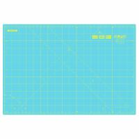 "Cutting Mat - Medium - 45cm x 30cm / 18"" x 12"" - Aqua (Olfa)"