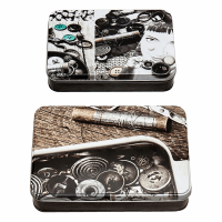 Sewing Themed Tins -  Monochrome (Groves)