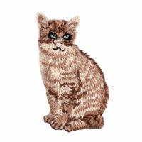 Motif - Cat - Brown
