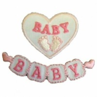 Motif - Baby Blocks - Pink
