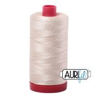 Aurifil Cotton 12wt, 2310 Light Beige