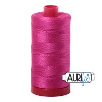 Aurifil Cotton 12wt, 4020 Fuchsia
