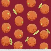 Oranges - Maroon - PWGP177.MAROON - Kaffe Fassett Collective