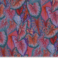 Caladiums - Red - PWPJ108.RED - Kaffe Fassett Collective