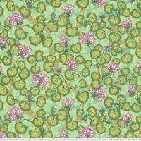 Climbing Geraniums - Green - PWPJ110.GREEN - Kaffe Fassett Collective