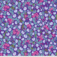 Climbing Geraniums - Purple - PWPJ110.PURPLE - Kaffe Fassett Collective