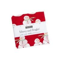 Moda - Merry & Bright - Charm Pack