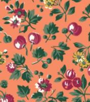Liberty London Fabrics - Orchard Garden - Wild Cherry Z