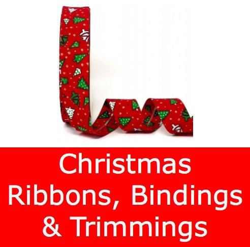 Christmas Ribbons & Bindings