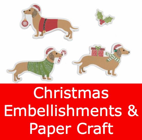 Christmas Embellishments & Paper Craft