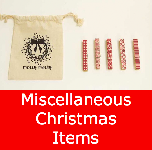 Miscellaneous Christmas Items