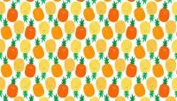 Last Fat Quarter - Makower -  Fruity Friends - Pineapples - 1941/N
