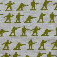 Last Fat Quarter - Riley Blake - Military Max - Toy Soldiers - No. C4370