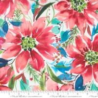 Moda - Starflower Christmas - Starflower - No. 8480 12  (White)