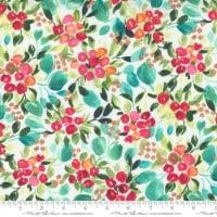 Moda - Starflower Christmas - Merry Berry - No. 8481 11  (White)