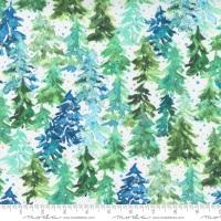 Moda - Starflower Christmas - Winter Pines - No. 8482 11  (White)