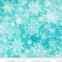 Moda - Starflower Christmas - Flurry - No. 8483 12  (Aqua)