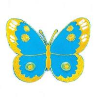 Motif - Butterfly - Blue