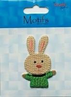 Motif - Bunny - Green Jumper