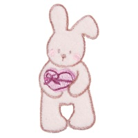Motif - Bunny - with Heart