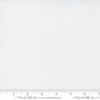 """Moda - Backing Fabric (108"""" wide) - Bella Solids - White - No. 11082 98"""
