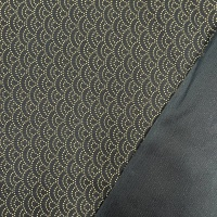 Sevenberry Japanese Fabric - Seigaiha Waves - No. 88222 Colour: 3 - 5 (Indigo)