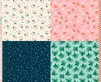 Moda - Ruby Star Society - Peppermint Please - Wrap Panel - RS2042 11 (Multi)