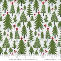 Moda - Hustle and Bustle - Pine Tree No. 30662 12 (Blizzard)