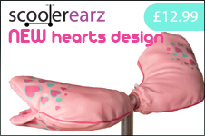 Hearts Scooterearz