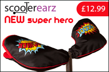 Superhero Scooterearz