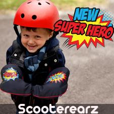 NEW Scooterearz Super Hero