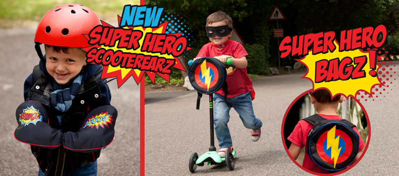 super hero scooterearz blog