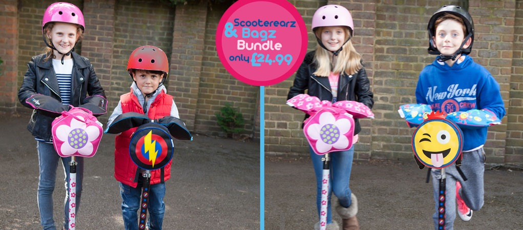 Scooterearz Bag and hand warmer Bundles