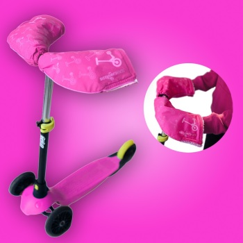 NEW! Pink Scooterearz Hand warmers