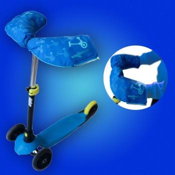 NEW! Blue Scooterearz Handwarmers