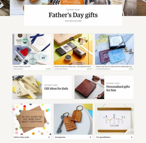 Etsy Father day gifts guide 2016