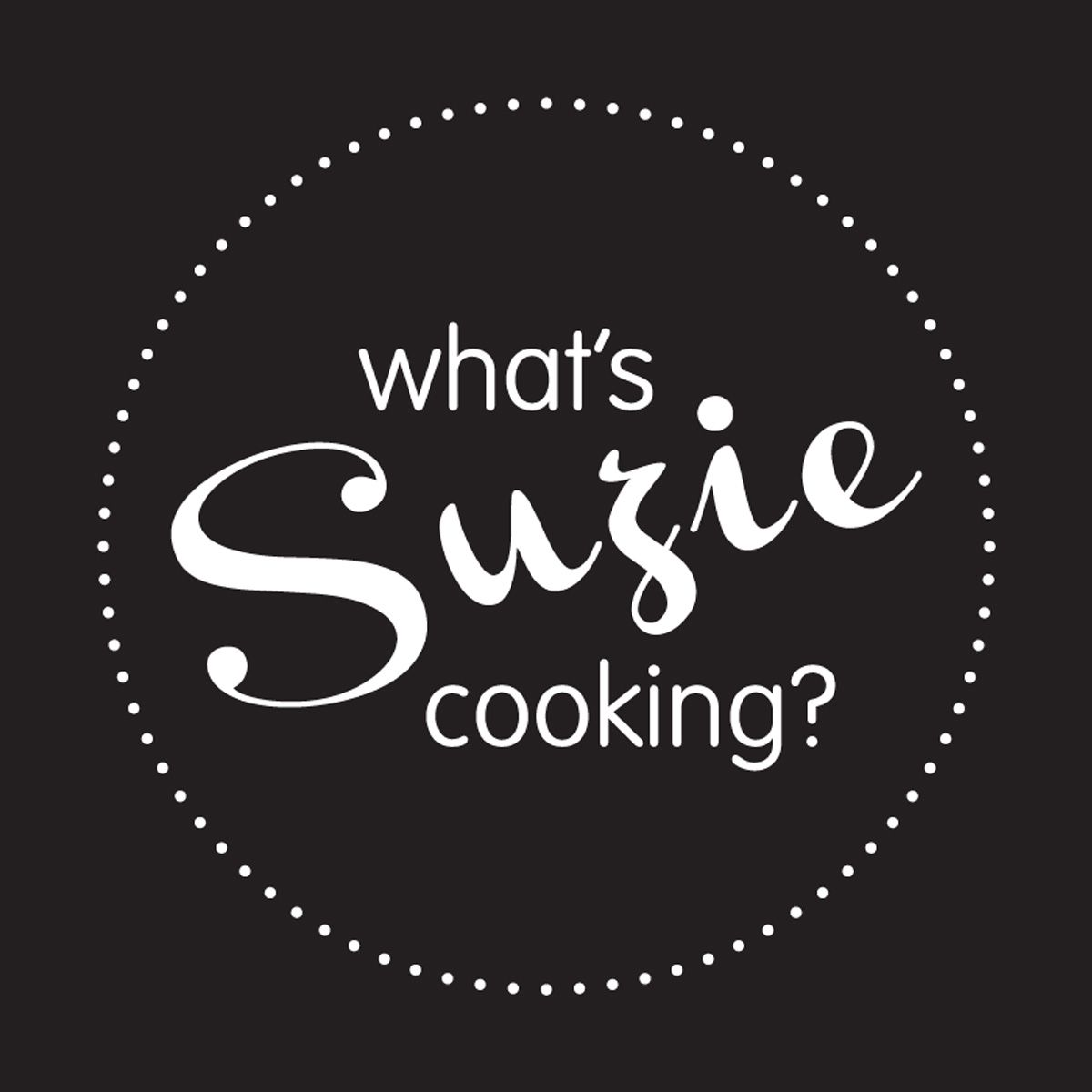 what's suzie cooking loogo design
