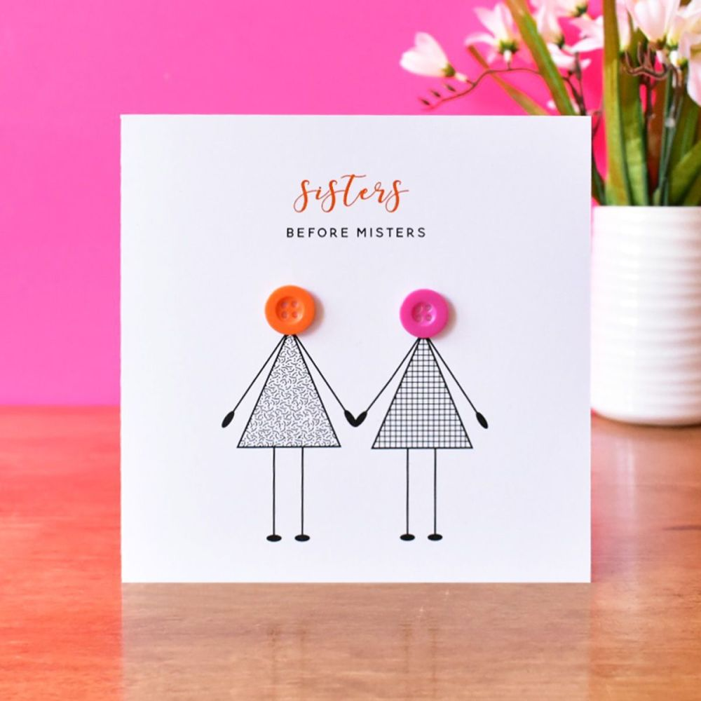sisters before misters card