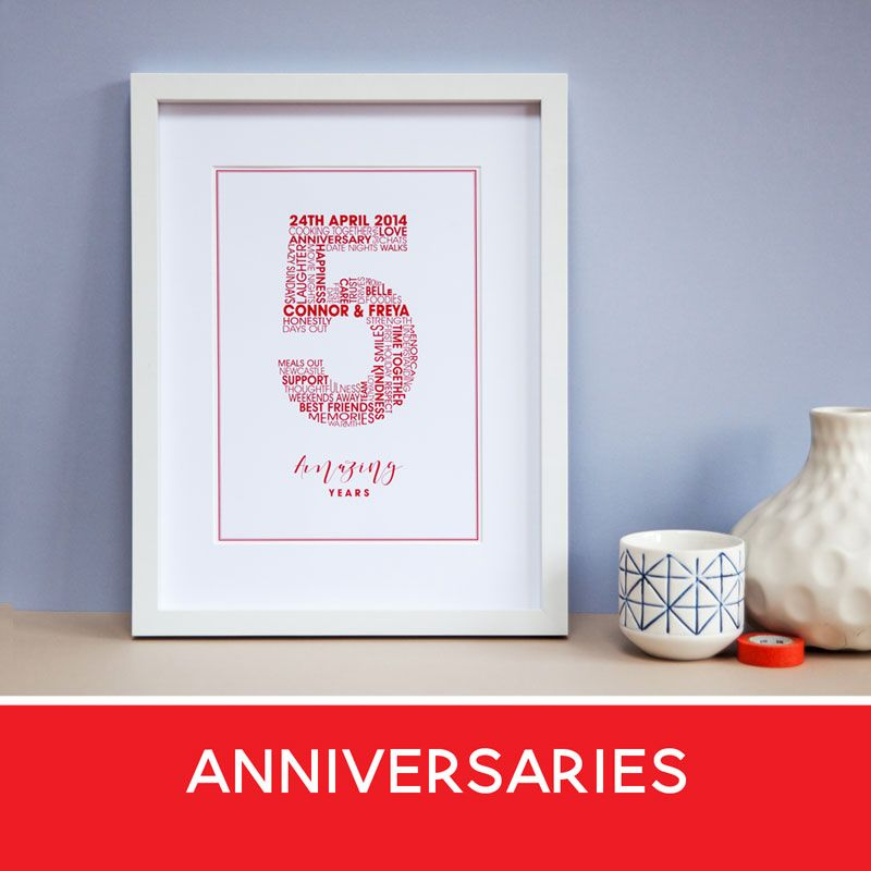 love heart print, anniversary gifts, typography poster, romantic cards, wedding anniversary cards